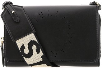 Stella McCartney Logo Strap Crossbody Bag