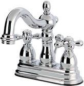Granby Spindle Pedestal Elongated Arch Faucet