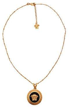 Versace Women's Icon Medusa Goldtone Pendant Necklace