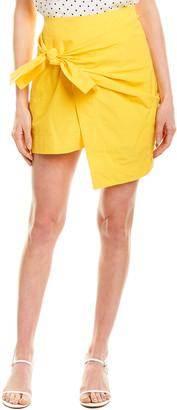 Derek Lam 10 Crosby Wrap Mini Skirt