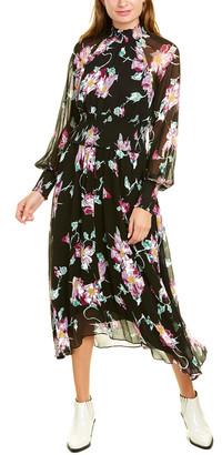 A.L.C. Casey Silk Midi Dress