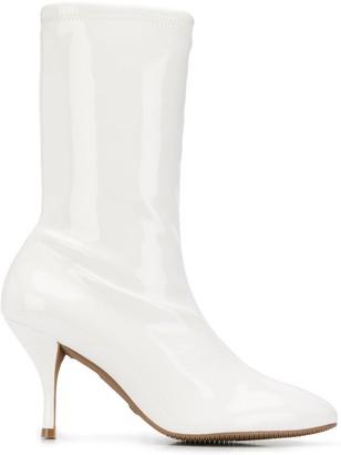 Stuart Weitzman Slip-On Ankle Boots