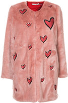 Alice + Olivia Alice+Olivia quilted heart coat