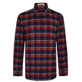 Givenchy Star Print Checked Shirt