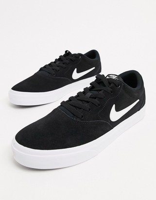 diente explotar Una efectiva  Nike SB Black Trainers For Men   Shop the world's largest collection of  fashion   ShopStyle UK