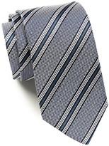 HUGO BOSS Silk Grid & Stripes Tie