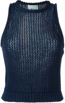 3.1 Phillip Lim chunky knit tank top