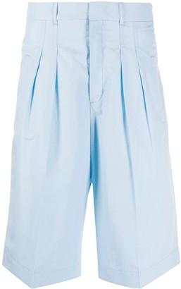 MAISON KITSUNÉ Pleated Bermuda Shorts