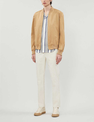 Sandro Cotton bomber jacket