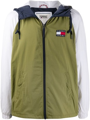 Tommy Hilfiger Panelled Hooded Jacket