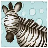 Oopsy Daisy Fine Art For Kids Timmy the Zebra Canvas Wall Art