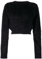 Faith Connexion textured cropped sweater