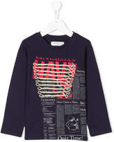 John Galliano long sleeve printed T-shirt