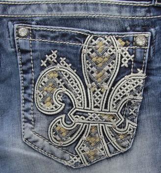 Miss Me Women's Fleur De List Skinny Denim Jean