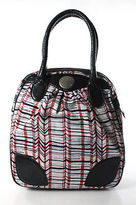 Marc by Marc Jacobs Multi Color Leather Striped Textured Shoulder Bag
