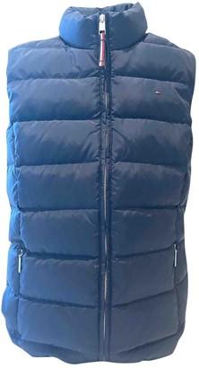 Tommy Hilfiger Blue Coat for Women