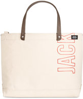 Jack Spade Men's Industrial Canvas Logo Coal Bag