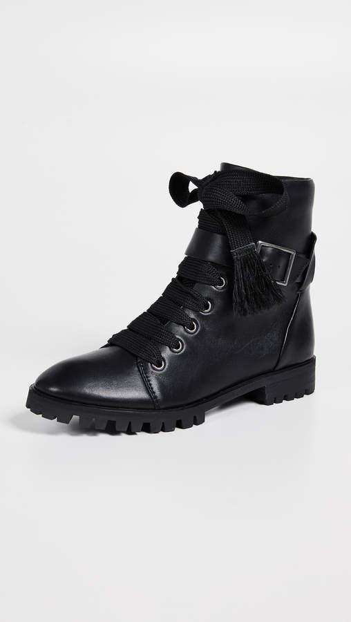 Celine Combat Boots