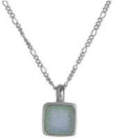 Marcia Moran Blue Druzy Necklace