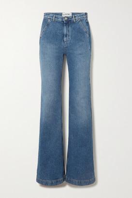Loewe High-rise Straight-leg Jeans - Blue