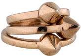 Eddie Borgo Studded Stacking Rings