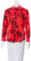 Elizabeth and James Silk Printed Blouse