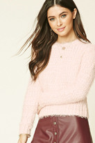 Forever 21 FOREVER 21+ Fuzzy Knit Sweater