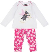 Juicy Couture Baby Knit Scottie Dog 2pc Legging Set