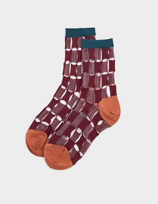 Hansel from Basel Petite Chucks Sheer Crew Sock