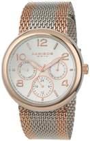 Akribos XXIV Women's AK559RG Multi-Function Two-Tone Stainless Steel Watch with Mesh Bracelet