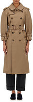 Comme des Garcons Women's Double-Breasted Trench Coat-TAN