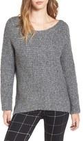 Astr Women's Rib Knit Sweater
