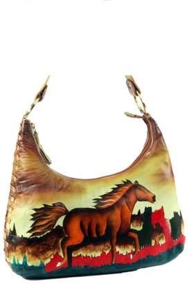 Magnifique Bags Hand-Painted Horse Purse