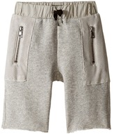 Hudson Kids - High Tech French Terry Shorts in Charcoal Boy's Shorts