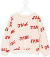 Bobo Choses Jane print sweatshirt