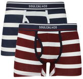 Soul Cal SoulCal Block Stripe Trunks