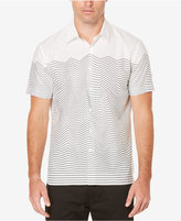 Perry Ellis Men's Wave Stripe Shirt