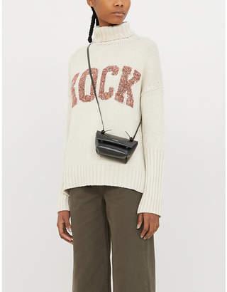 Zadig & Voltaire ZADIG&VOLTAIRE Rock-print knitted jumper
