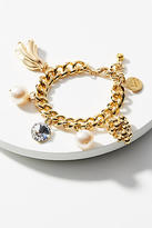 Venessa Arizaga Golden Fruit Charm Bracelet