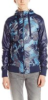Jet Lag Men's Reversible Nylon Jacket