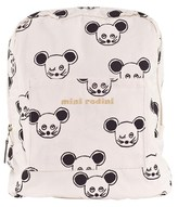Mini Rodini Mouse Face Backpack