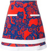 Carven floral print skirt - women - Silk/Polyester/Acetate - 38