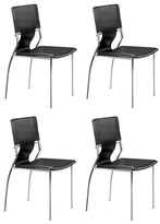 ZUO Trafico Side Chairs (Set of 4)