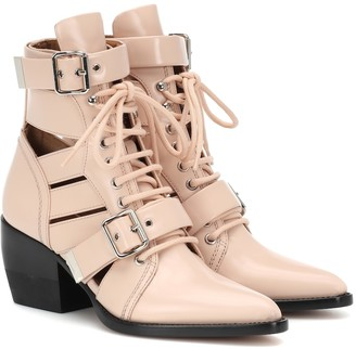 Chloã© Rylee leather ankle boots