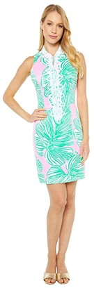Lilly Pulitzer Alexa Stretch Shift Dress (Mandevilla Baby Who Let The Fronds Out) Women's Dress