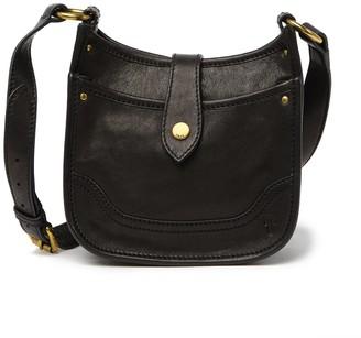 Frye Madison North South Leather Mini Crossbody Bag