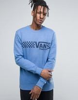 Vans Ravenwood Sweatshirt In Blue