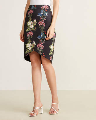 Ted Baker Oracle Floral Pencil Skirt