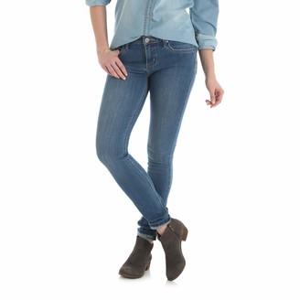 Wrangler Women's Western Mid Rise Stretch Skinny Jean