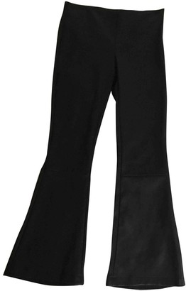 Dusan Brown Leather Trousers for Women